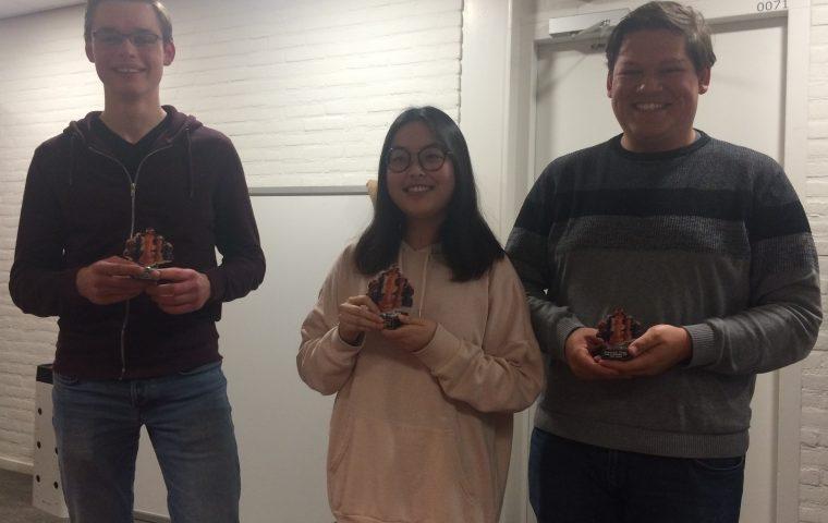 Ru Jiaping wint het studentenkampioenschap 2019