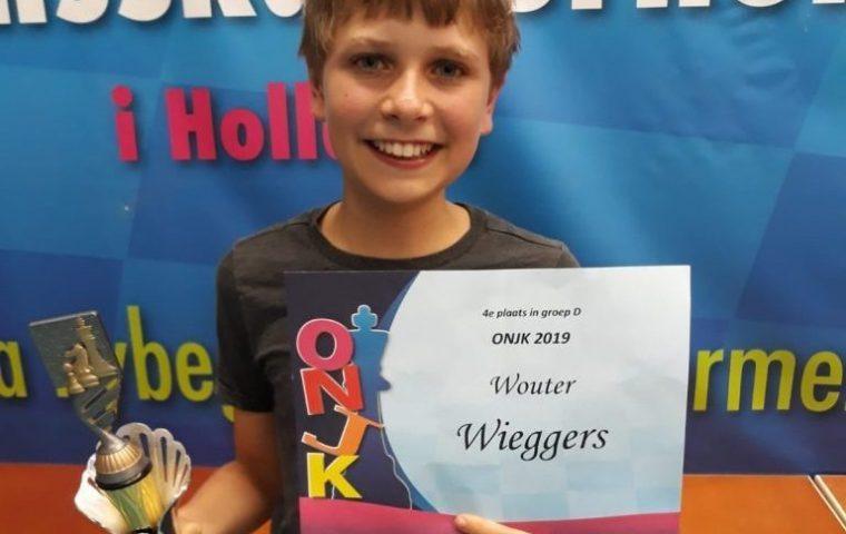 Wouter Wieggers vierde op Open Nederlands Jeugdkampioenschap