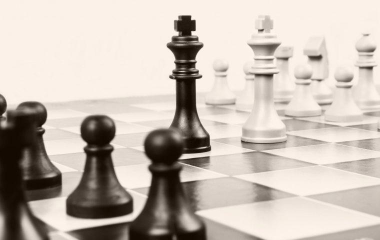 Eindelijk weer 'echt' schaken