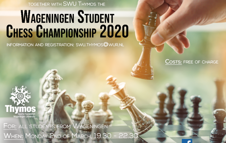 Wageningen Student Chess Championship on the 2nd of March