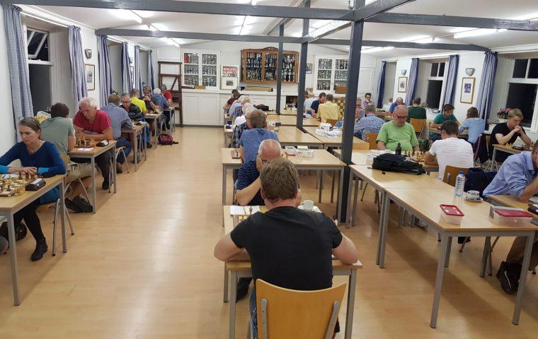 Frisse start met veel nieuwe schakers en nieuw clubhuis